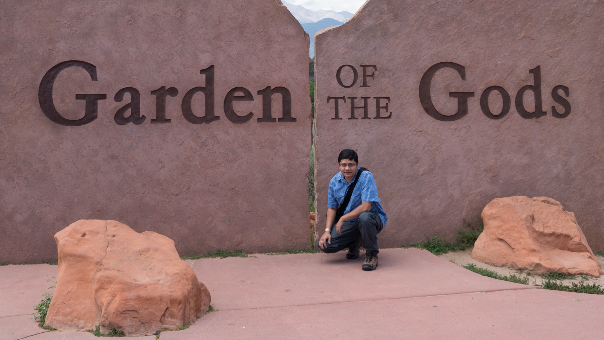 Anirban @ Garden of the Gods