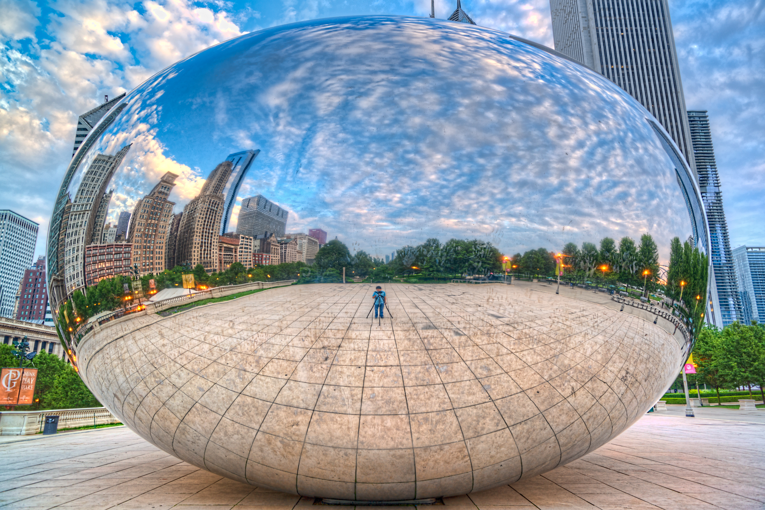 Cloud Gate South Side