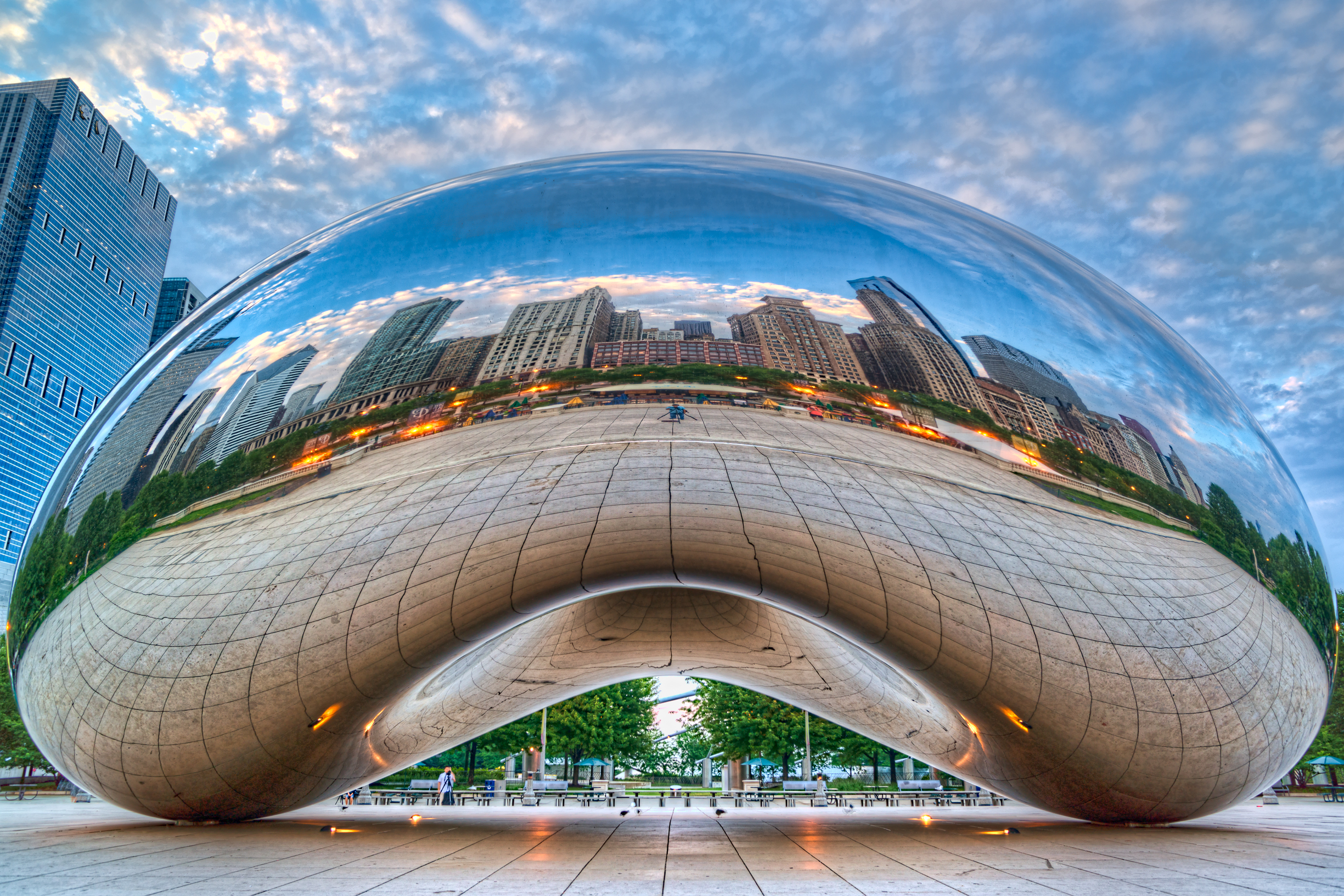 Cloud Gate West Side